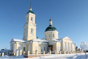 храм Вознесения Господня с. Водзимонье